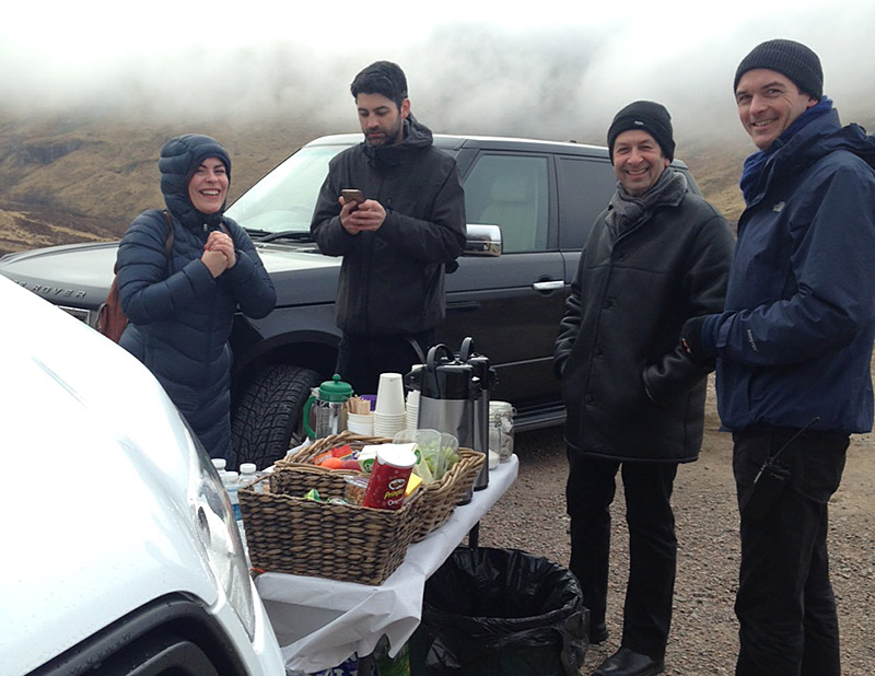 Refreshments in the remote highlands BTS