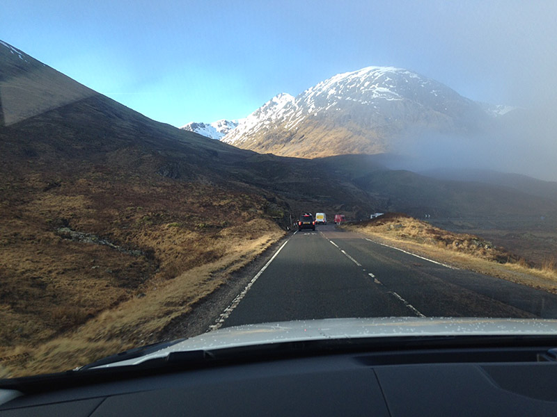 BTS location in Glen Coe Scotland
