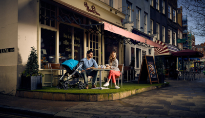 Hampstead London advertising for iCandy