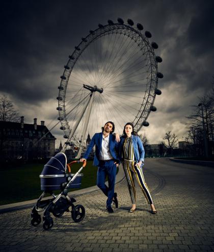 London Eye advertising for iCandy