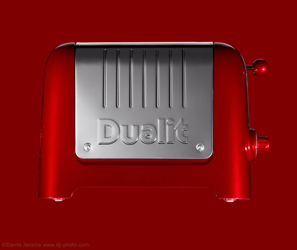 Dualit Toaster product photography