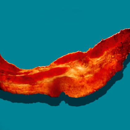 Abstract bacon