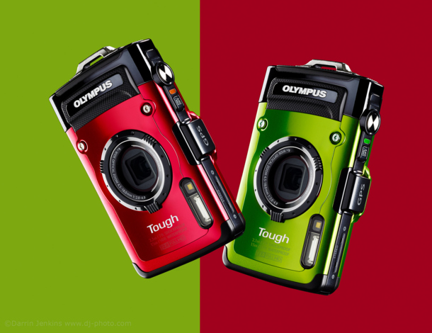 Product Photography of Olympus Tough Compact Camera