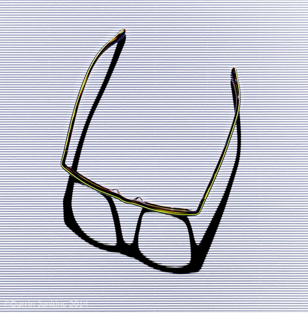 Glasses abstract photograph