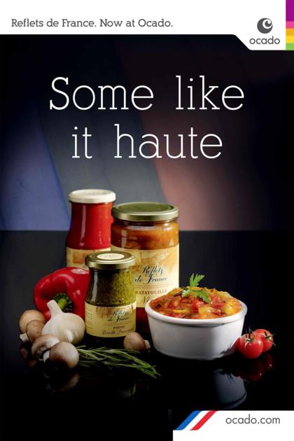 Consumer advertising for Ocado