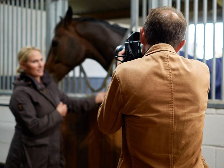 royal photographer portrait of zara tindall