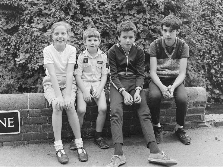 Street Children c1987 Salisbury